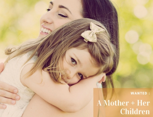 A Mother and Her Children – National Family Portrait Month