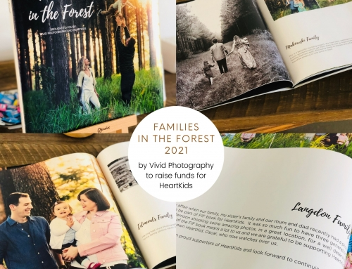 Families in the Forest 2021 – A Book Project to raise money for HeartKids
