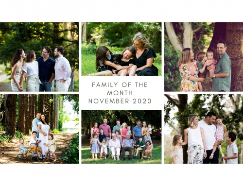 Family of the Month – WIN a $860 Family Portrait Package!