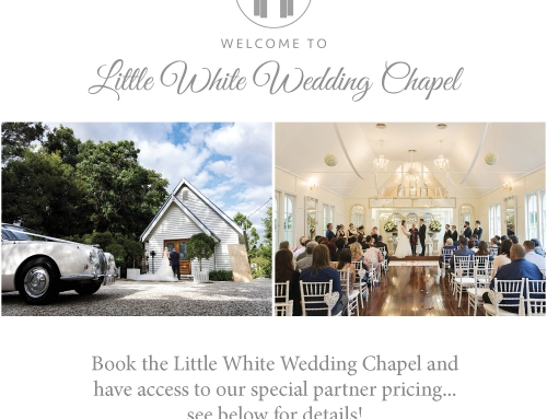 Little White Wedding Chapel Partnership with Vivid Photography
